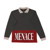 MENACE RUGBY LONGSLEEVE - MENACE LOS ANGELES