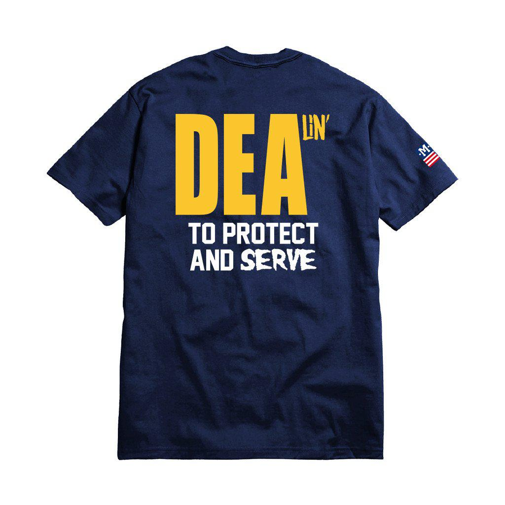 DEALIN' T-SHIRT-T-Shirt-MENACE ®