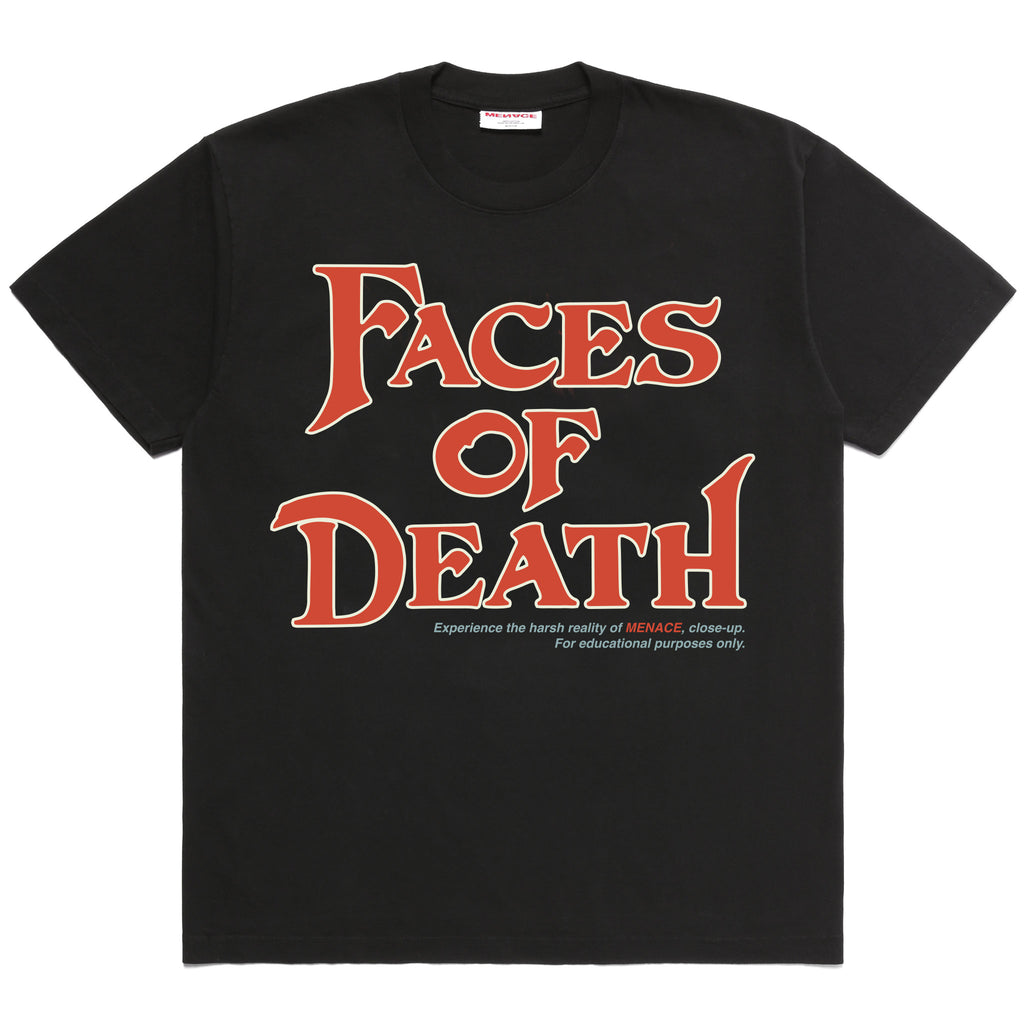 FACES OF DEATH T-SHIRT-T-Shirt-MENACE ®
