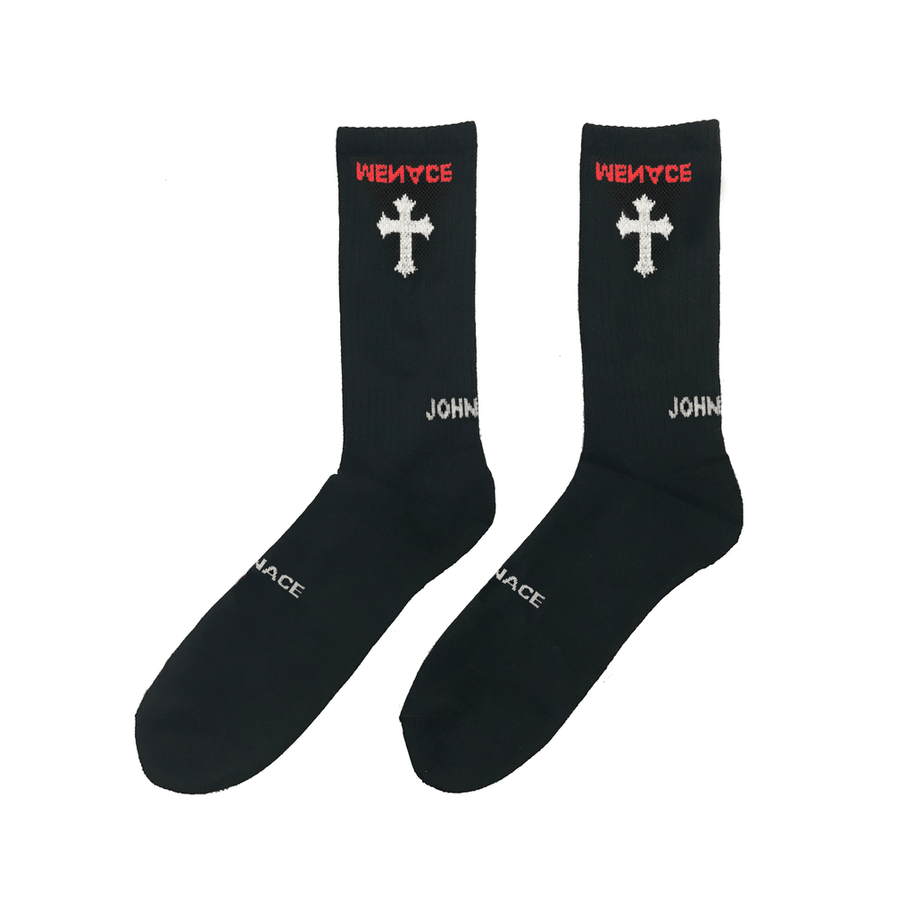 JOHN 3:16 SOCKS (4 PACK) - MENACE LOS ANGELES