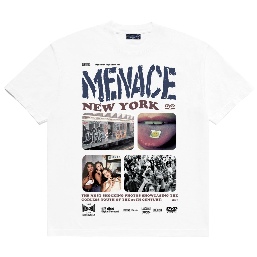 MENACE NYC DVD T-SHIRT