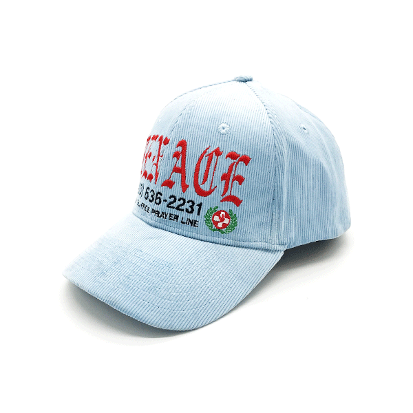 PRAYER HOTLINE CAP by MENACE