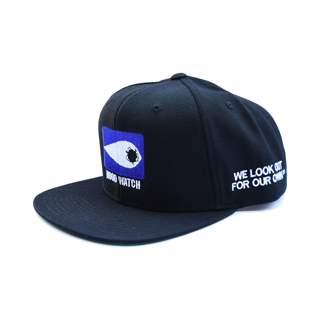 HOOD WATCH SNAPBACK  - MENACE LOS ANGELES - 1