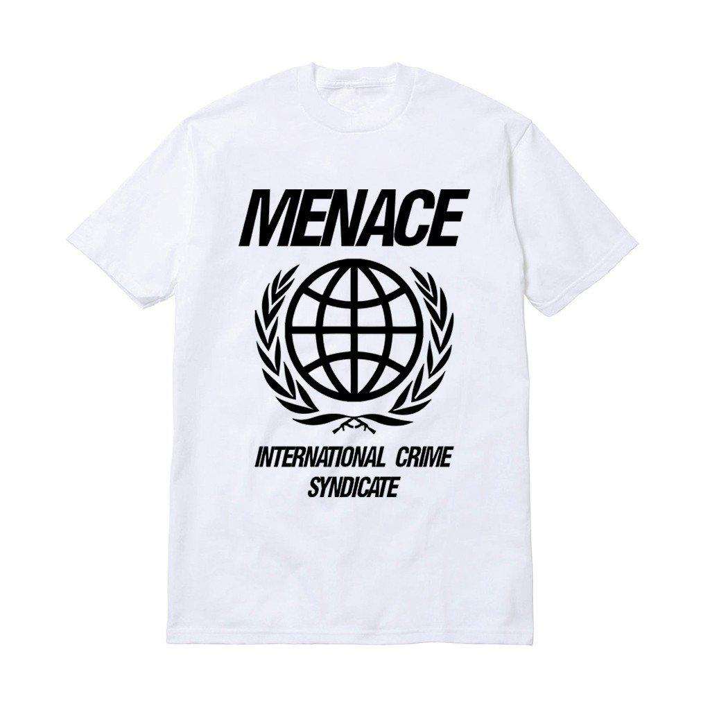 INTERNATIONAL CRIME SYNDICATE T-SHIRT-T-Shirt-MENACE ®