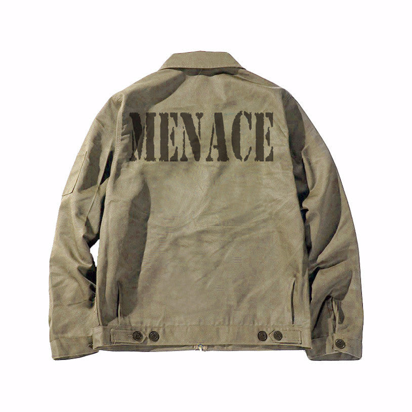 CANVAS WORK JACKET-Work Jacket-MENACE ®
