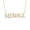 MENACE PENDANT + CHAIN - MENACE LOS ANGELES