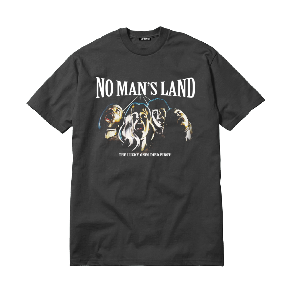 NO MAN'S LAND T-SHIRT-T-Shirt-MENACE ®