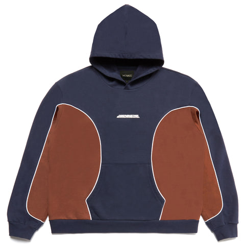 MENACE CORPORATION LOGO PANEL HOODIE