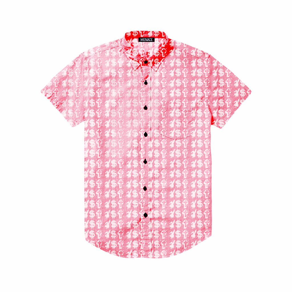 VICES BUTTON-UP  - MENACE LOS ANGELES - 1