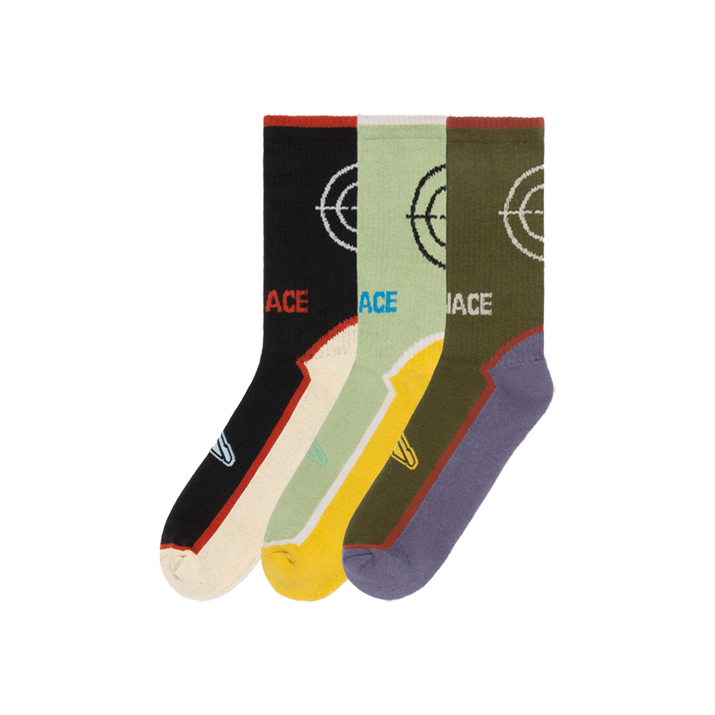 CROSSHAIR SOCKS (3-PACK)-Socks-MENACE ®