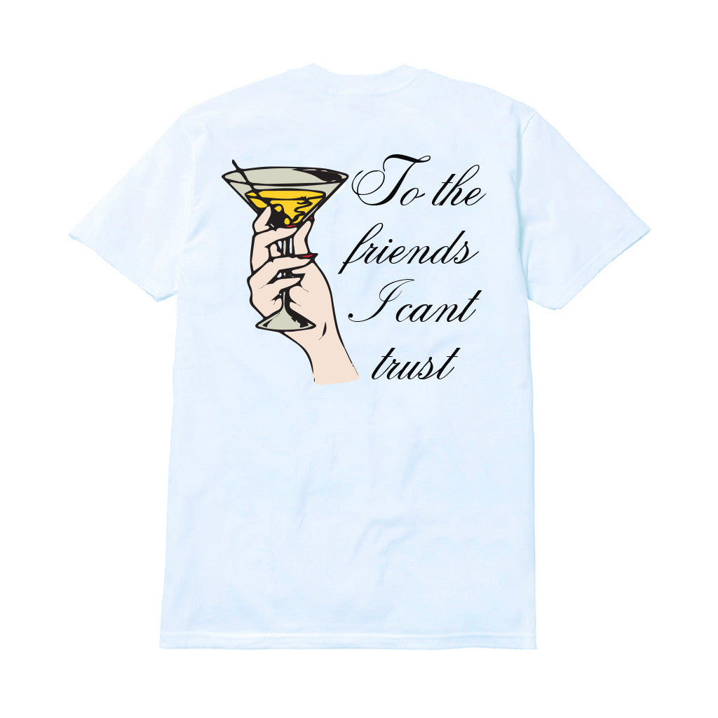 FRIENDS I CAN'T TRUST T-SHIRT by MENACE