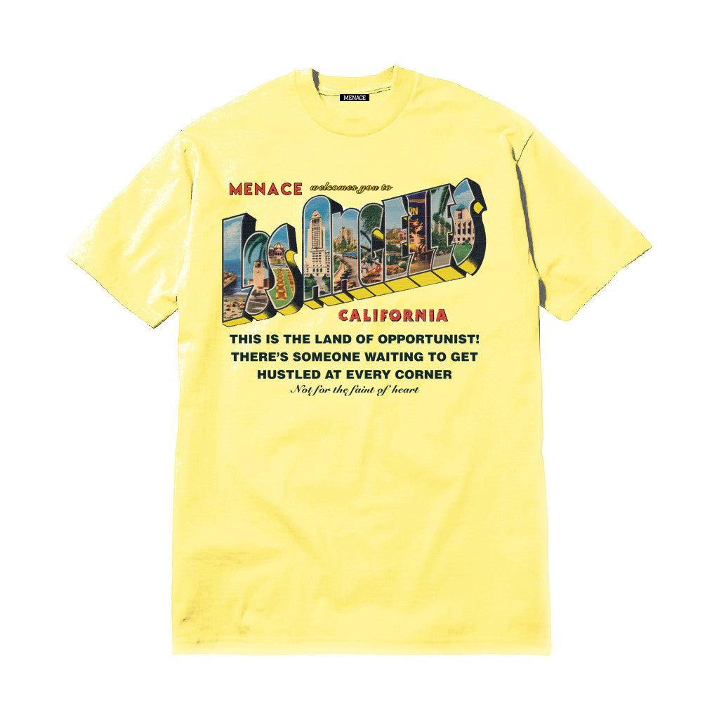 WELCOME TO LA T-SHIRT - MENACE LOS ANGELES