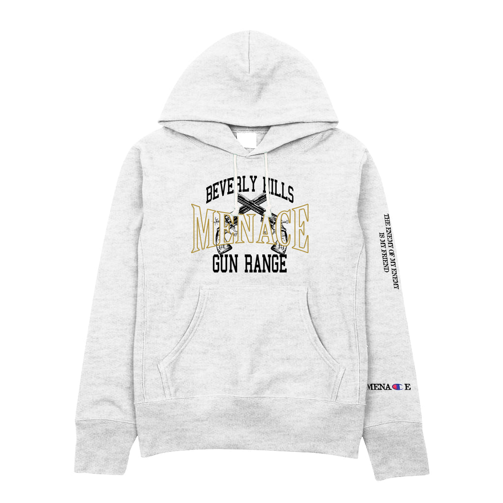 BEVERLY HILLS GUN RANGE HOODIE by MENACE