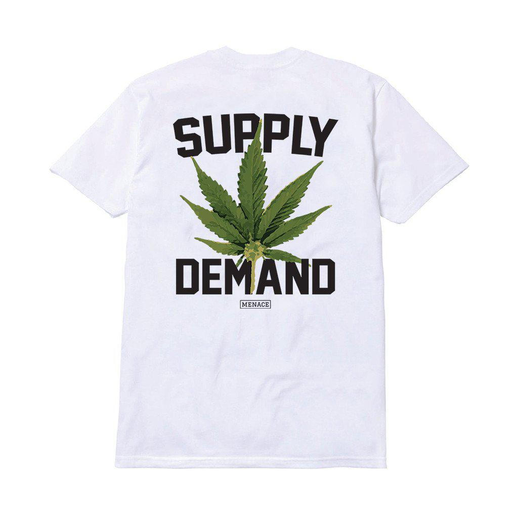 SUPPLY & DEMAND T-SHIRT by MENACE