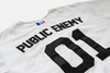 PUBLIC ENEMY BASEBALL JERSEY-Baseball Jersey-MENACE ®