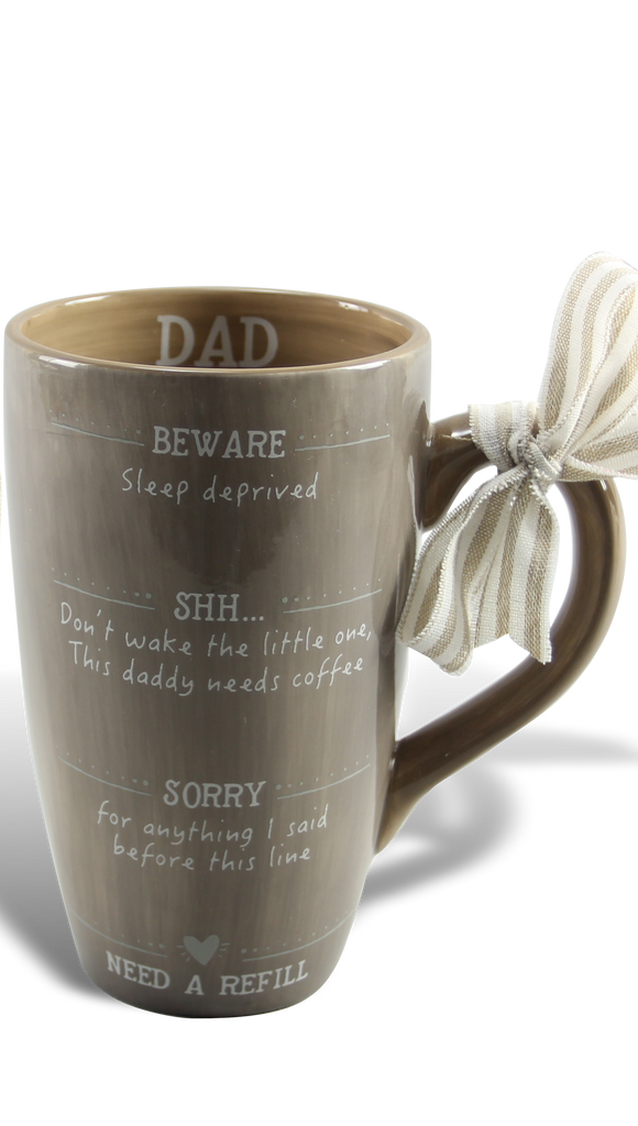 Exhausted Dad Mug