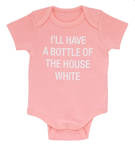 Bottle of House White