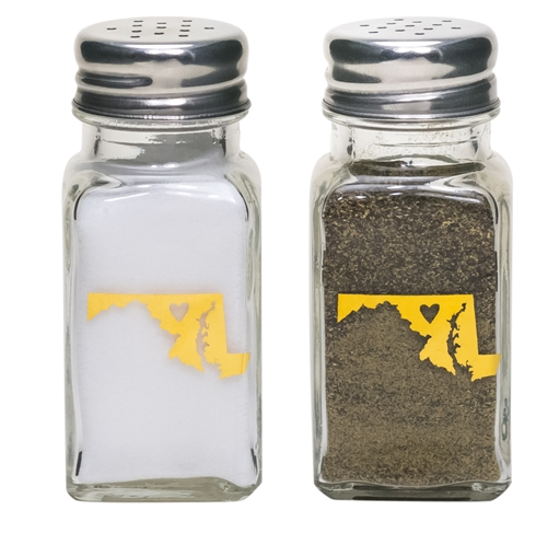 Maryland Salt & Pepper Shakers