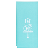 Eat More Cake Tea Towel