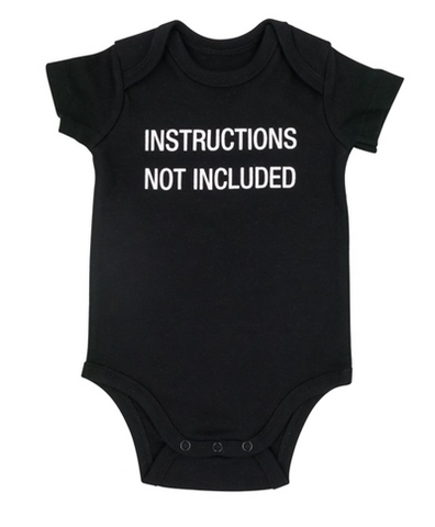 Not Included Onesie