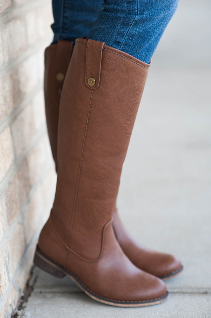 Brown Rider Boots - 1