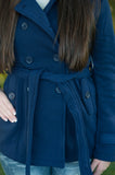 Navy Pea Coat - 2