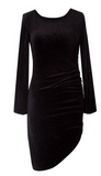 Very Velvet Dress- Black