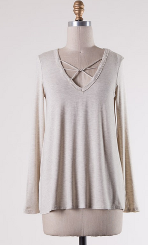 Transitions Top- Oatmeal