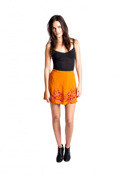 MARNI Short Skirt - Solid Pumpkin