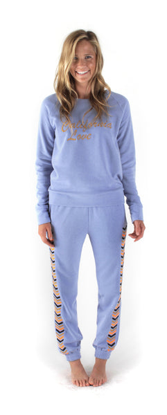 TARA Sweatshirt- Blue