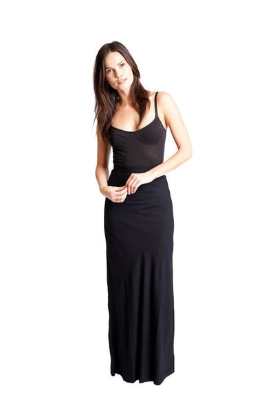 LUCY Maxi Skirt - Solid Black
