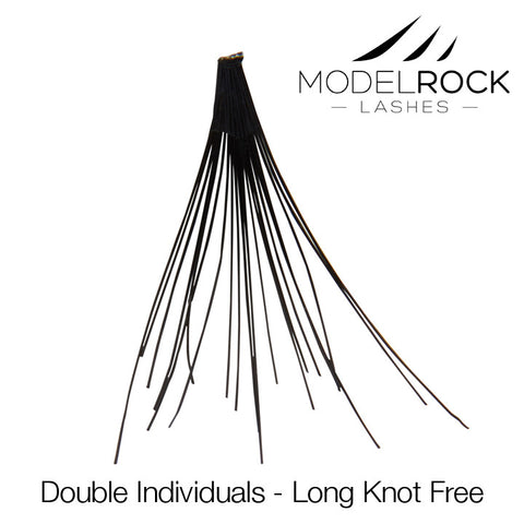 Modelrock Double Style Individual Lashes - Knot Free
