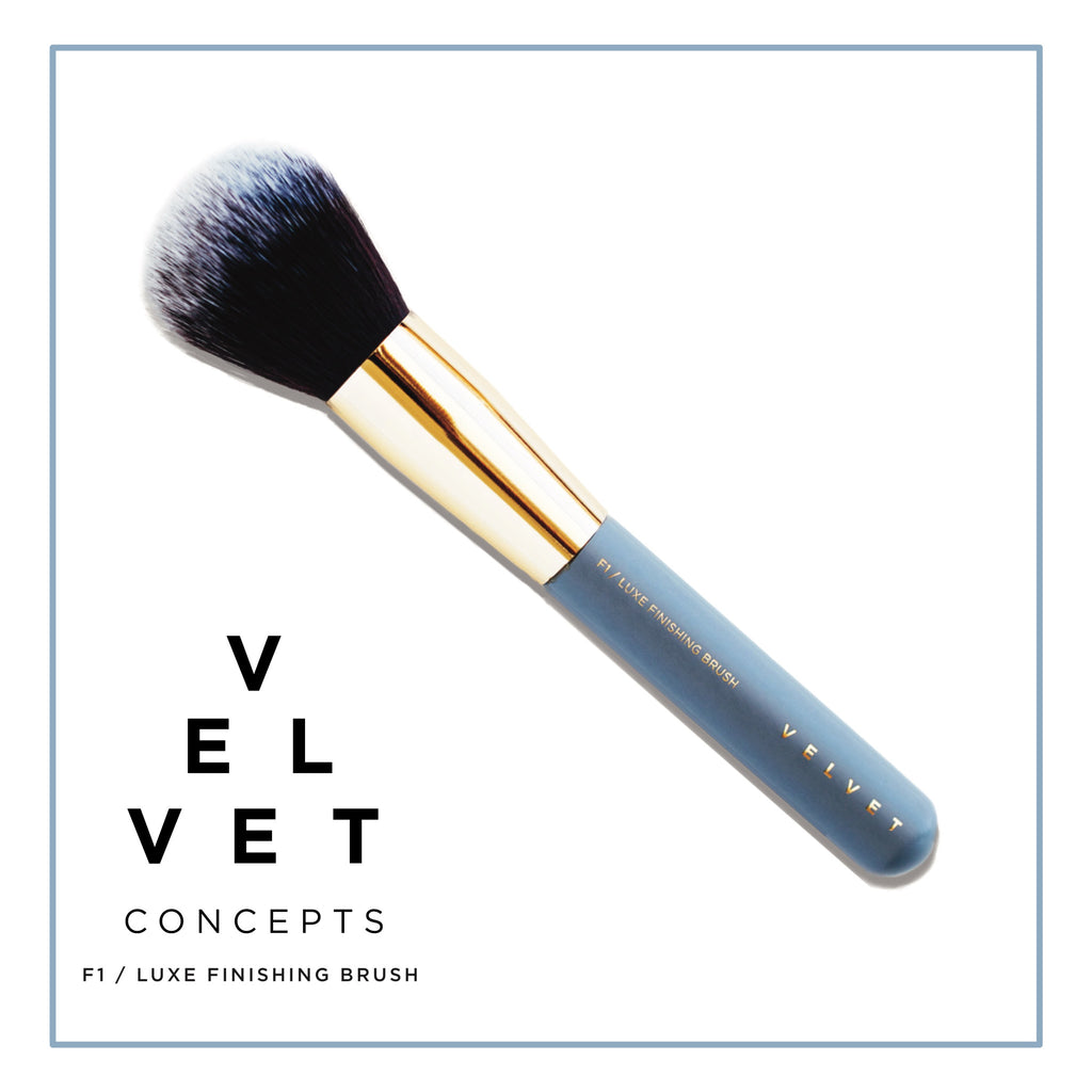 VELVET CONCEPTS FACE/LUXE FINISHING BRUSH