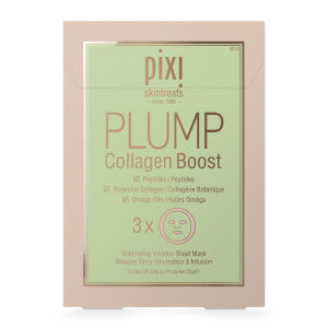 PIXI PLUMP COLLAGEN BOOST SHEET MASK 3 PACK