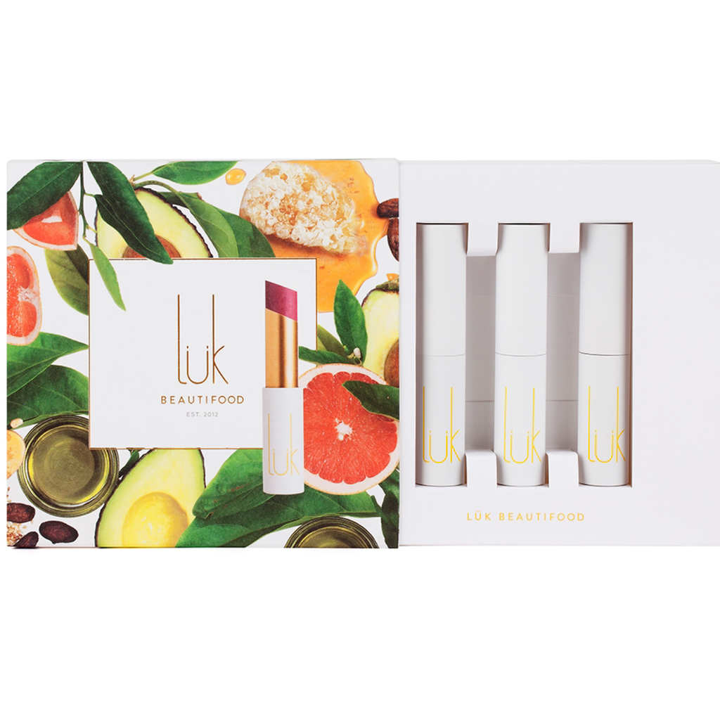 Luk - lip nourish - trio gift set