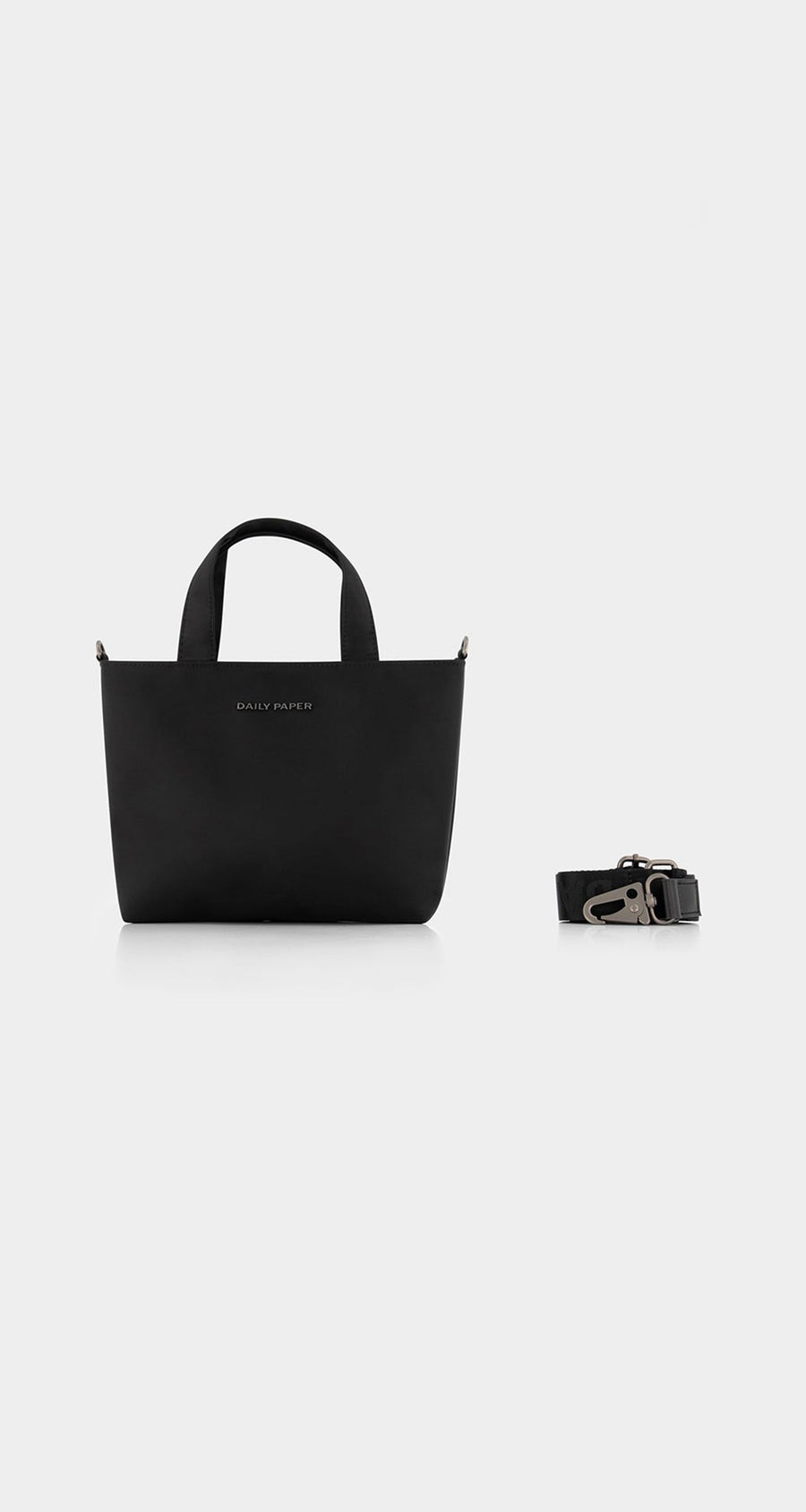 Daily Paper - Black Etiny Bag - Front