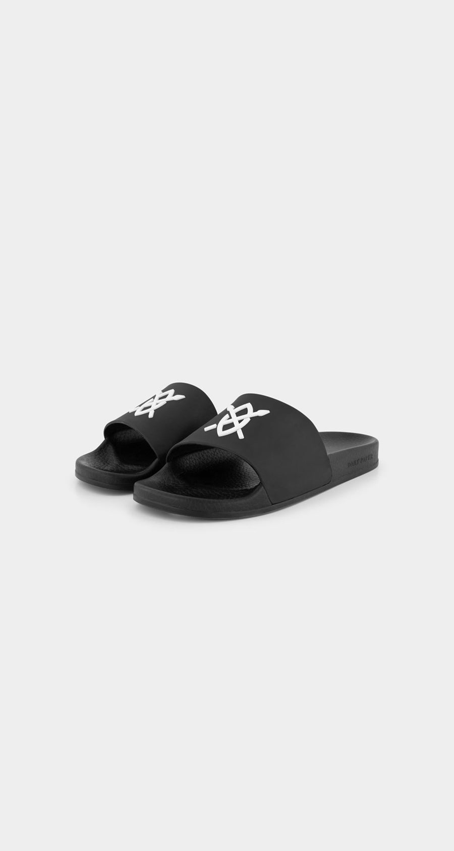 Daily Paper - Black Reslider Sandals - Front