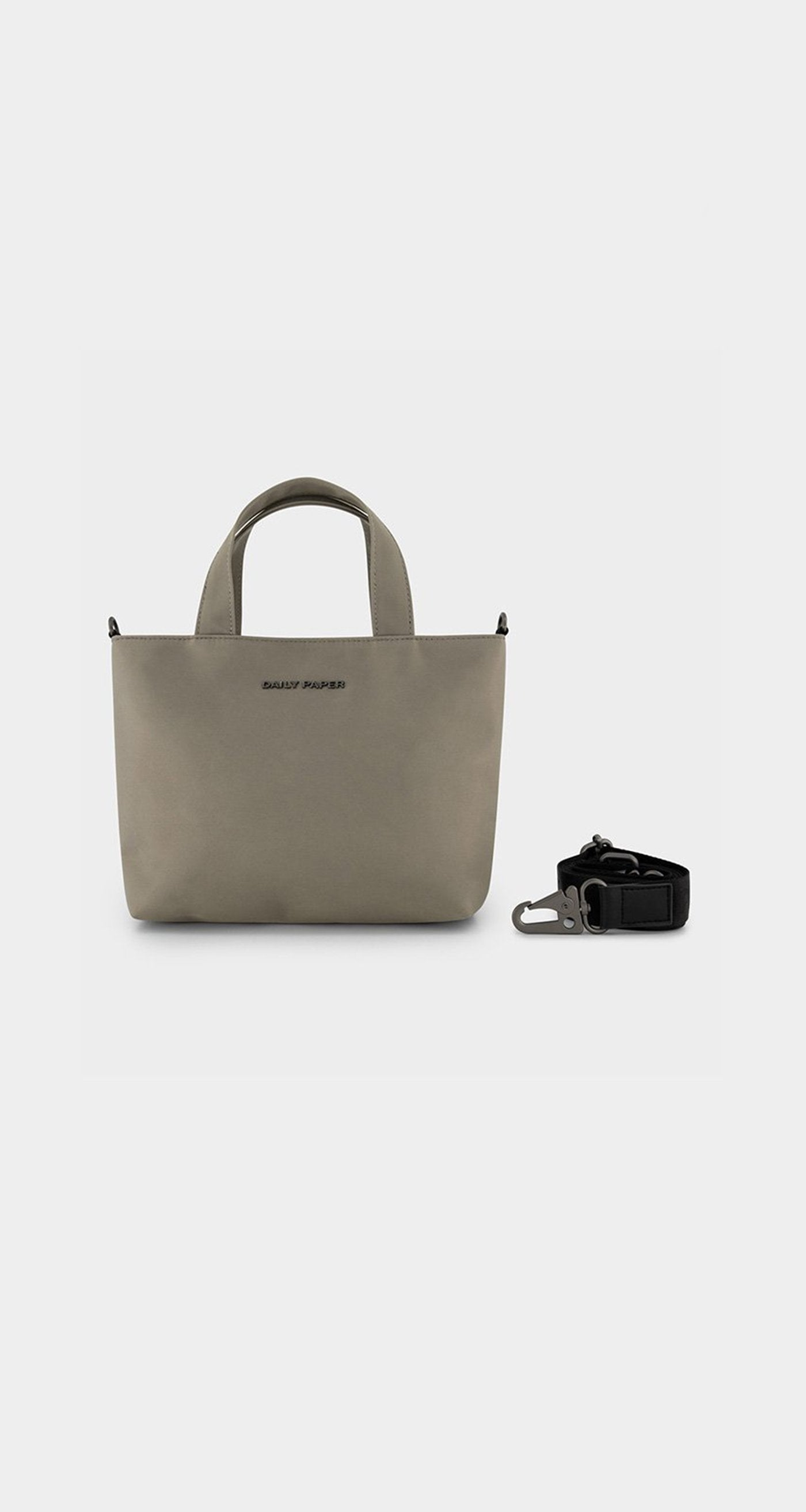 Daily Paper - Warm Grey Etiny Bag - Front