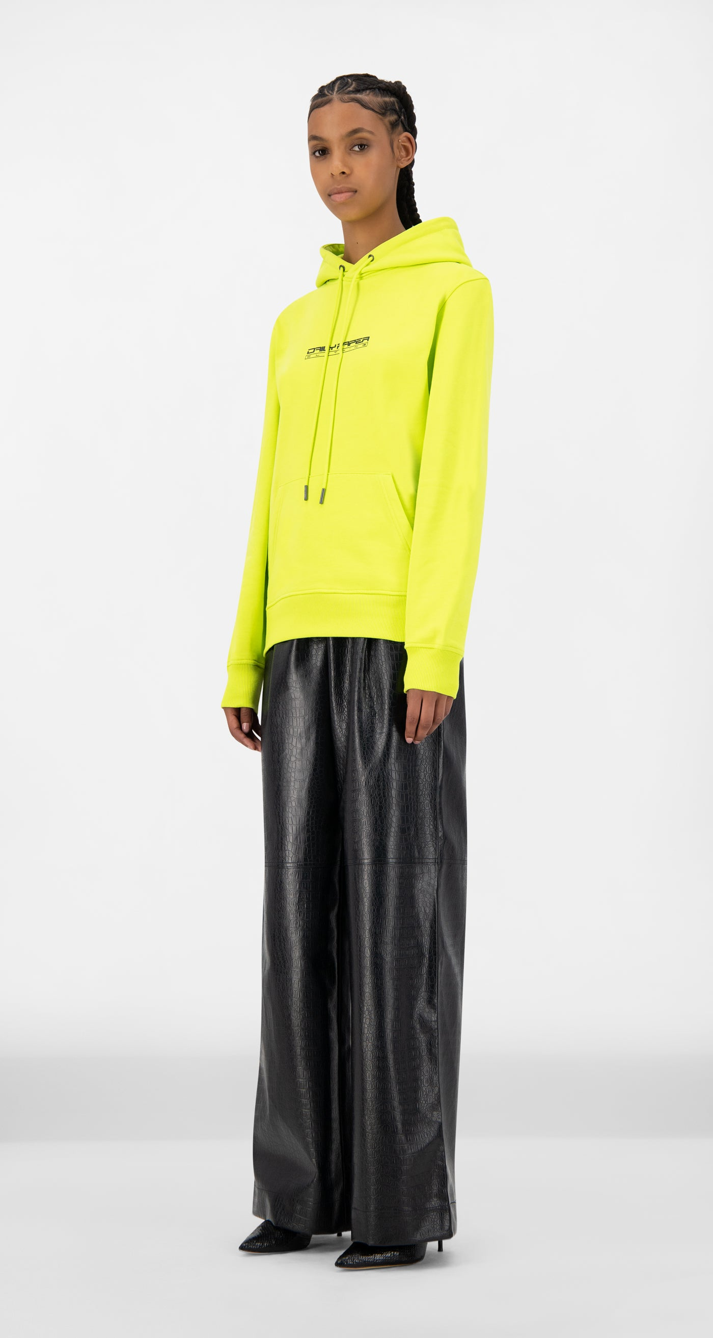 Daily Paper - Acid Lime Jaaci Hoody - Women