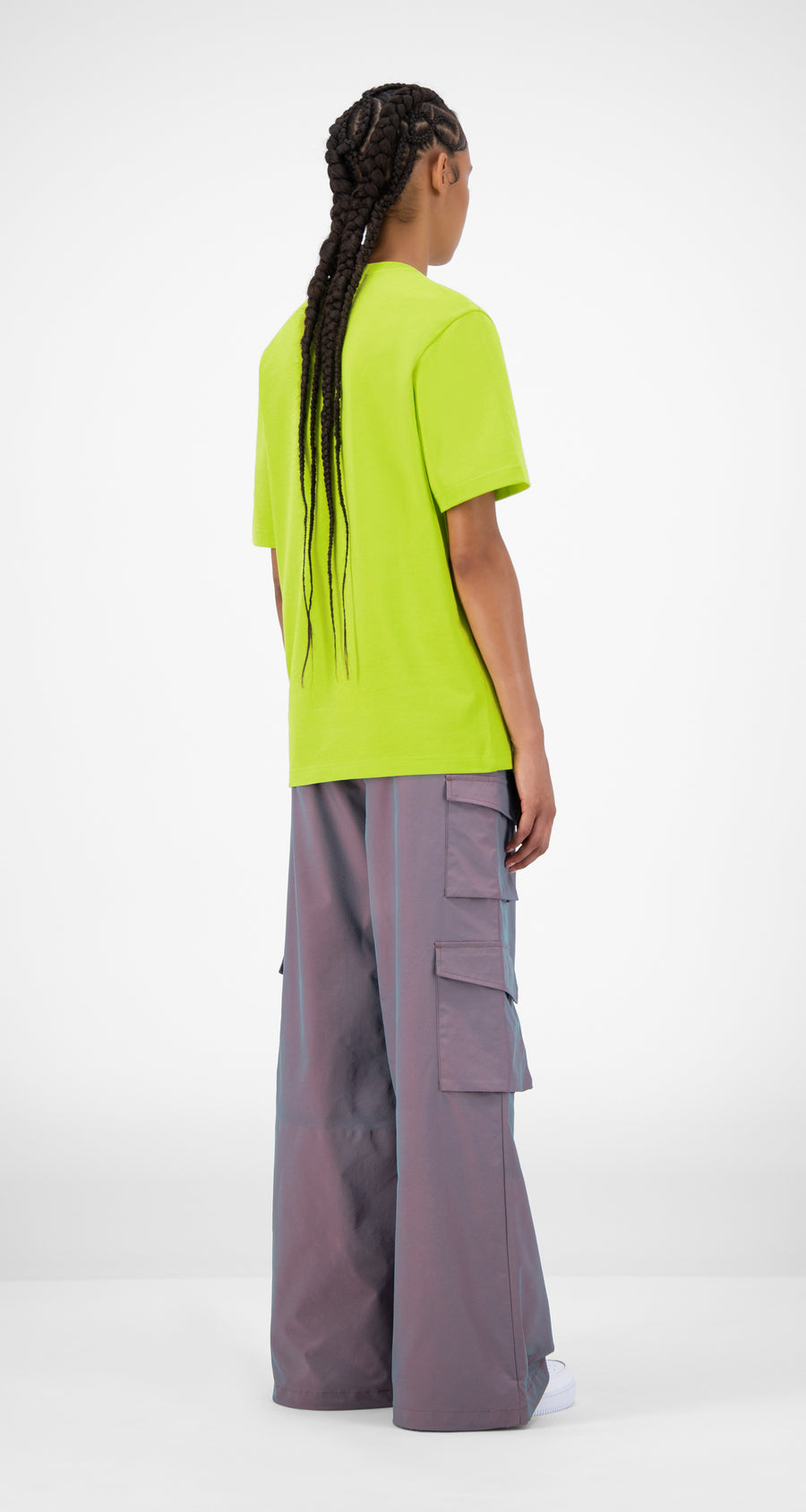Daily Paper - Acid Lime Joraci T-Shirt - Women Rear