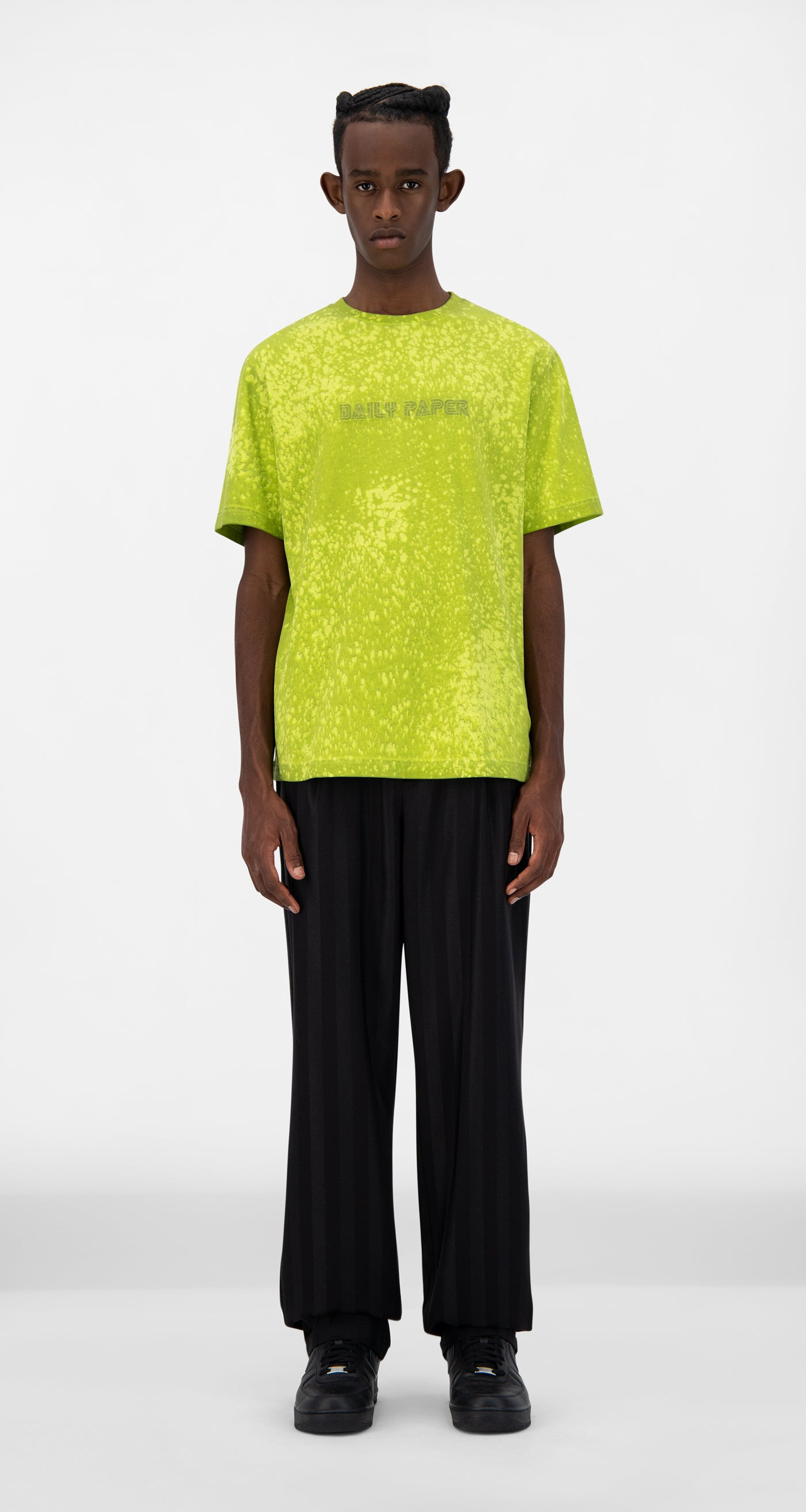 Daily Paper - Acid Lime Jorspla T-Shirt - Men Front