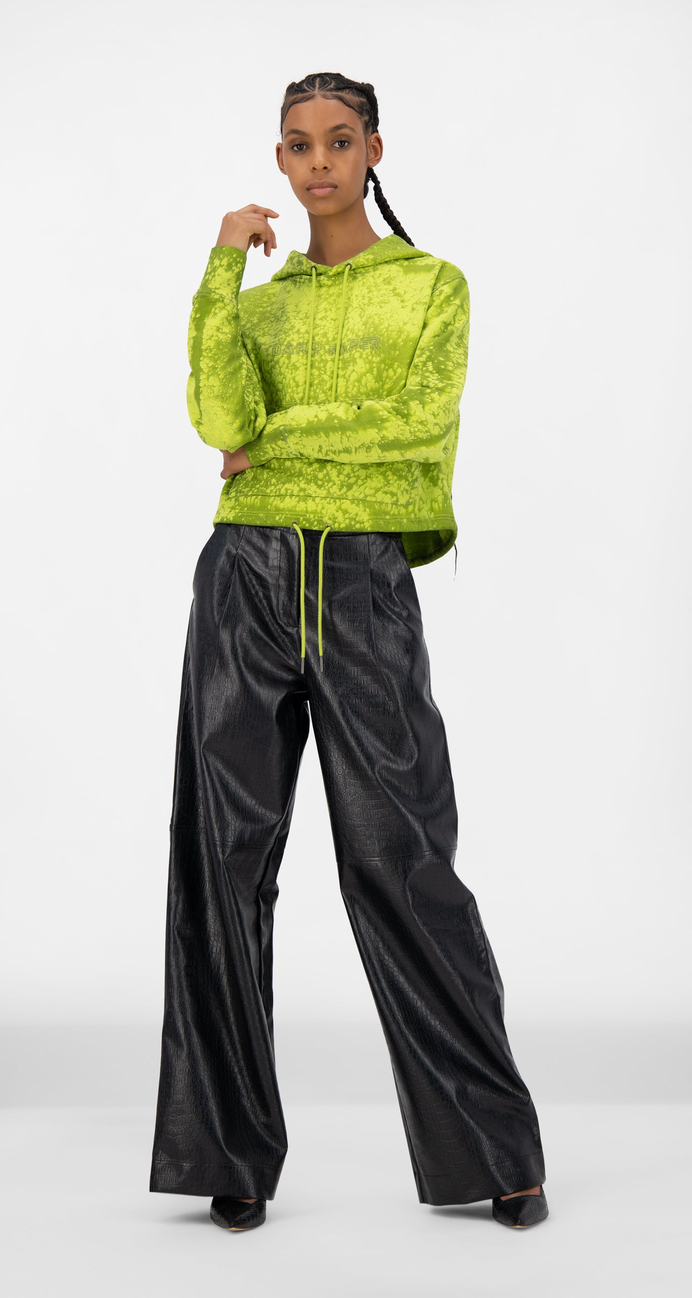 Daily Paper - Acid Lime Jowa Hoody - Women