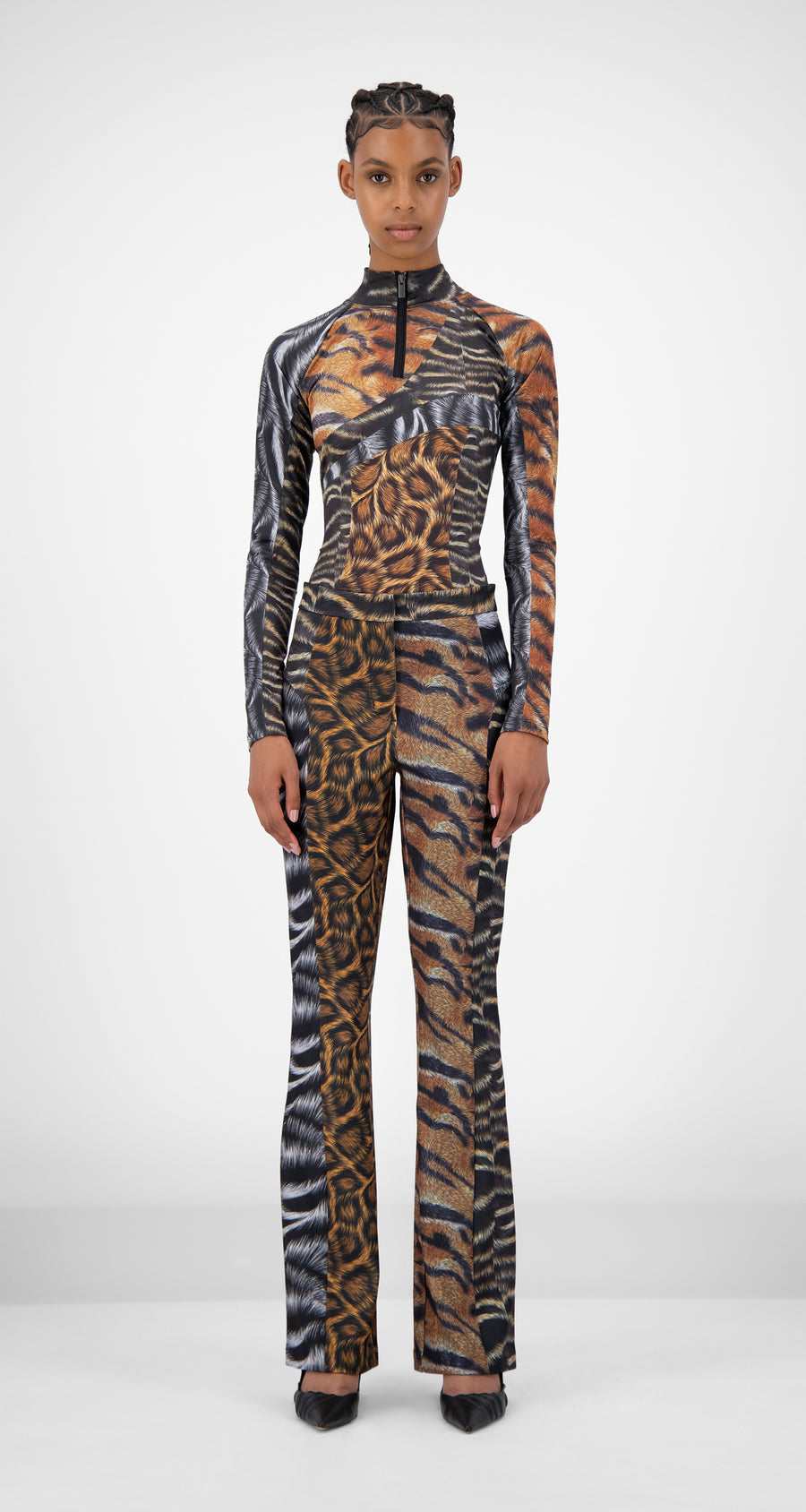 Daily Paper - Animal Print Jannet Pants - Women Front