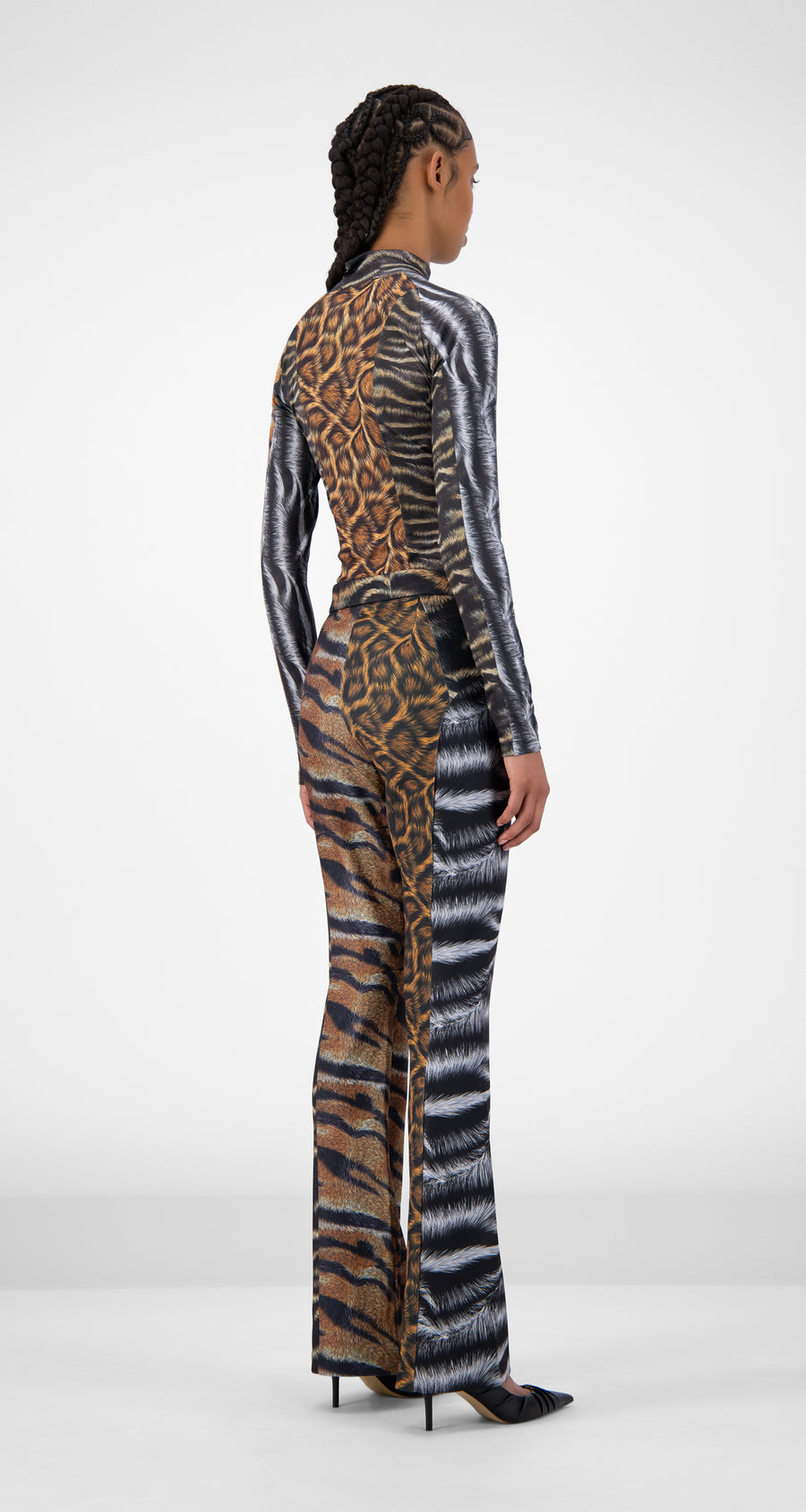 Daily Paper - Animal Print Jannet Pants - Women Rear