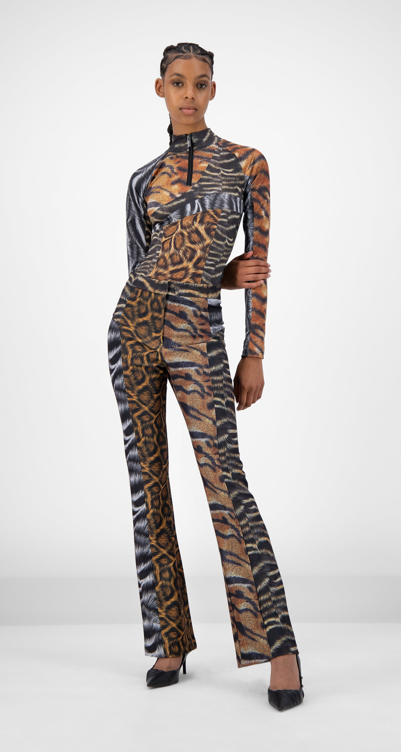 Daily Paper - Animal Print Jannet Pants - Women