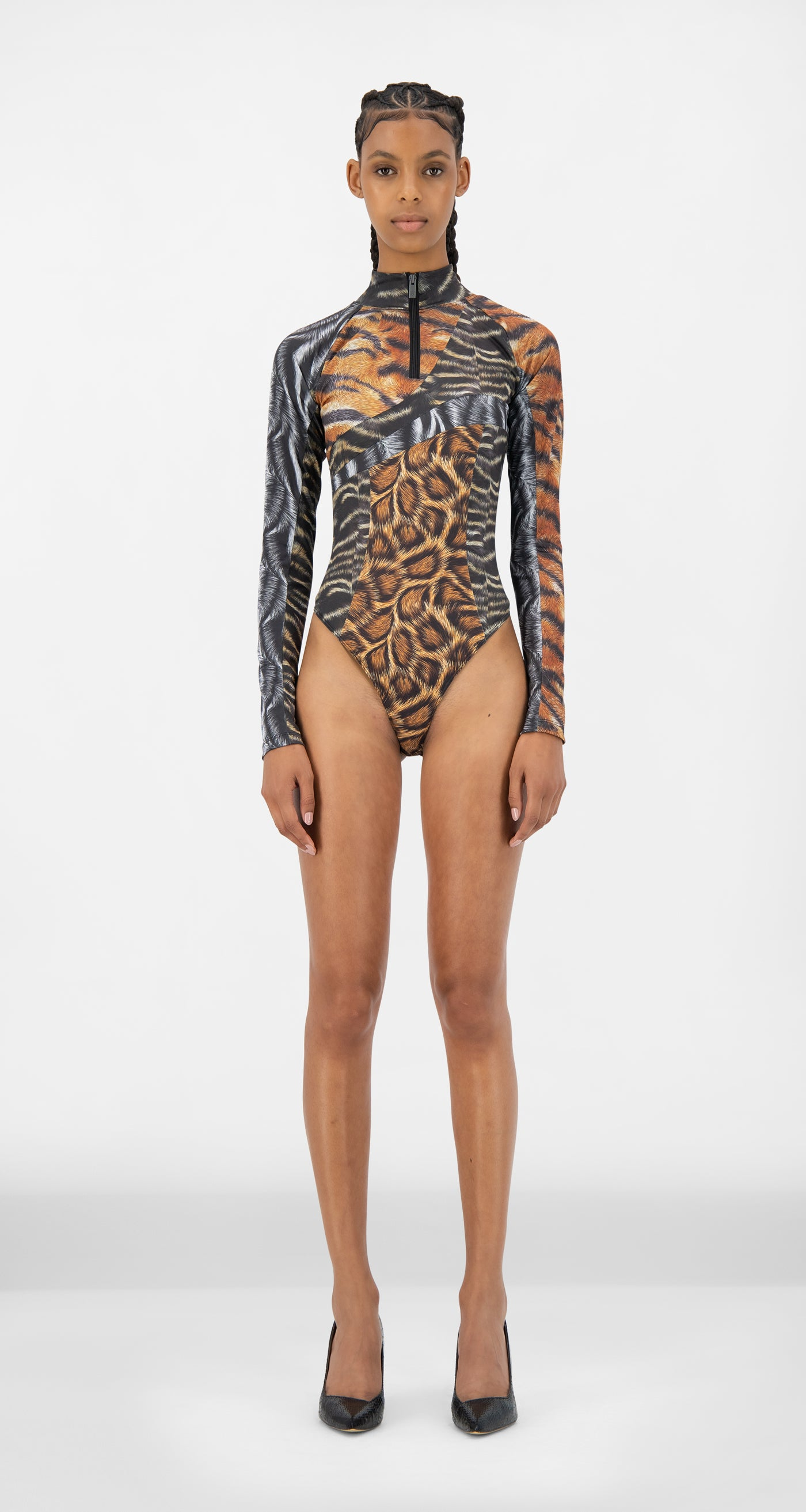 Daily Paper - Animal Print Jody Body - Women Front