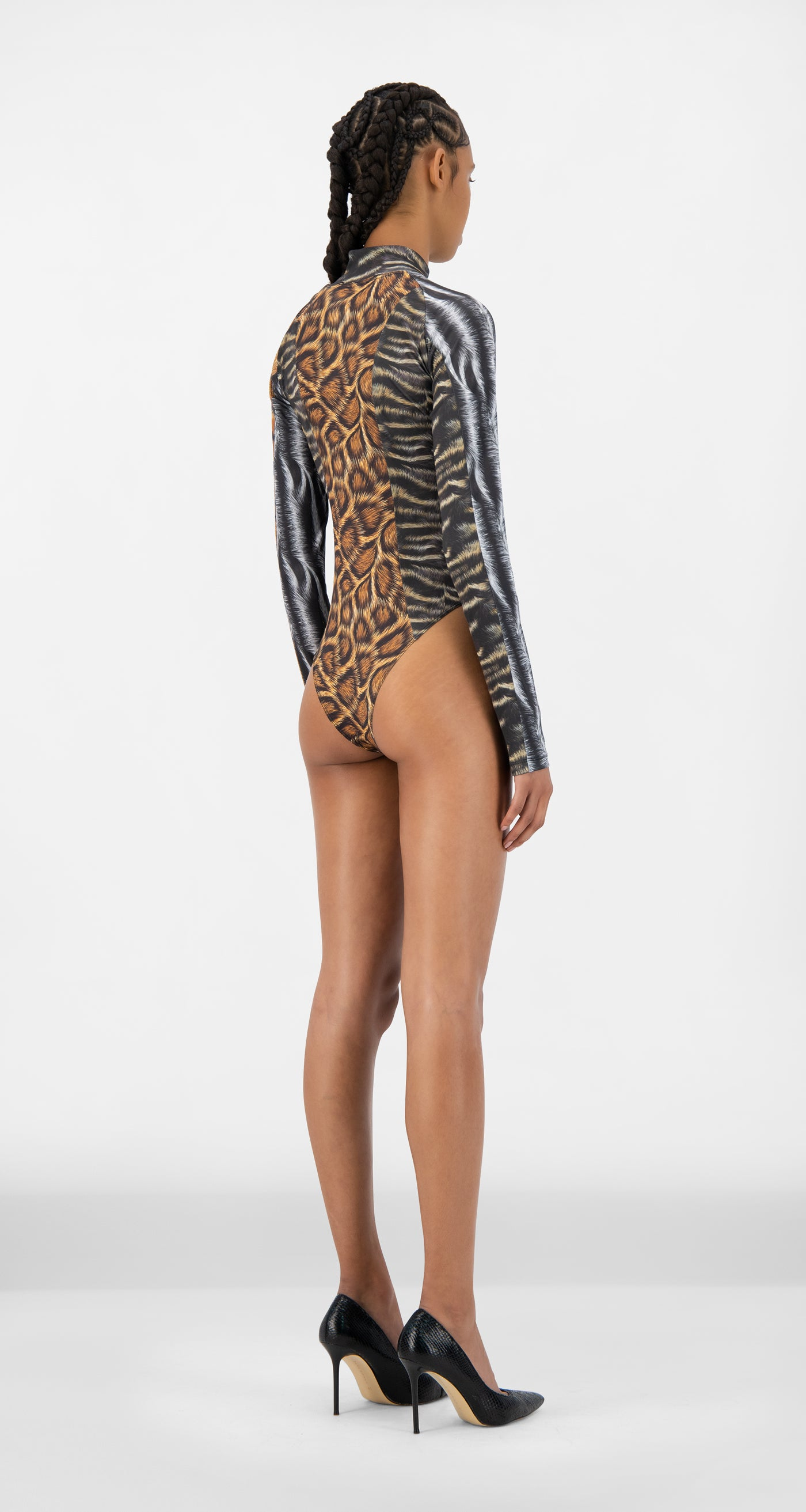 Daily Paper - Animal Print Jody Body - Women Rear