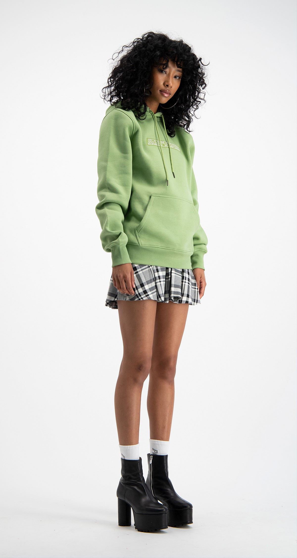 Pastel Green Copatch Hoody
