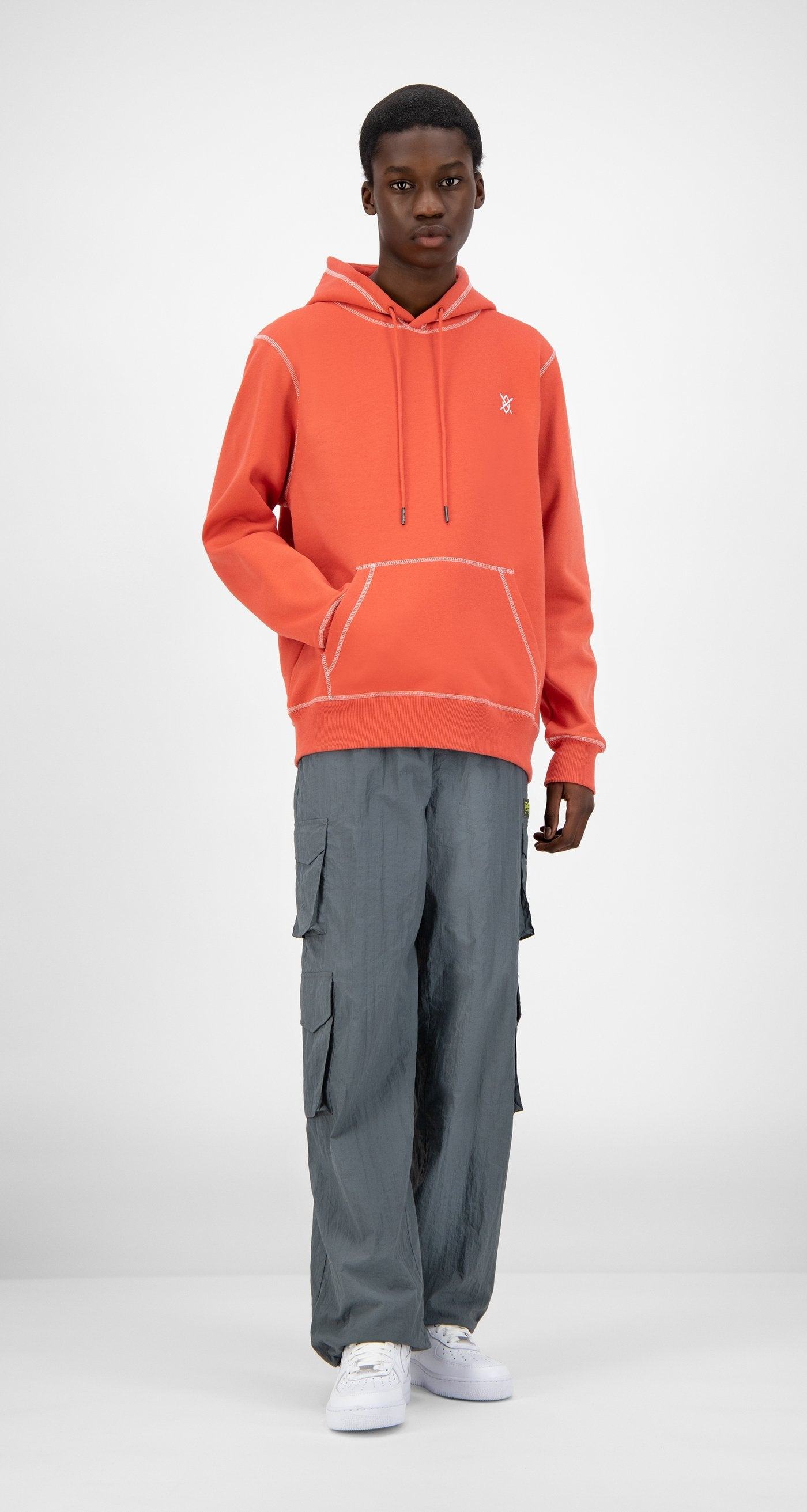 Daily Paper - Baked Orange Hoshield Hoody - Men