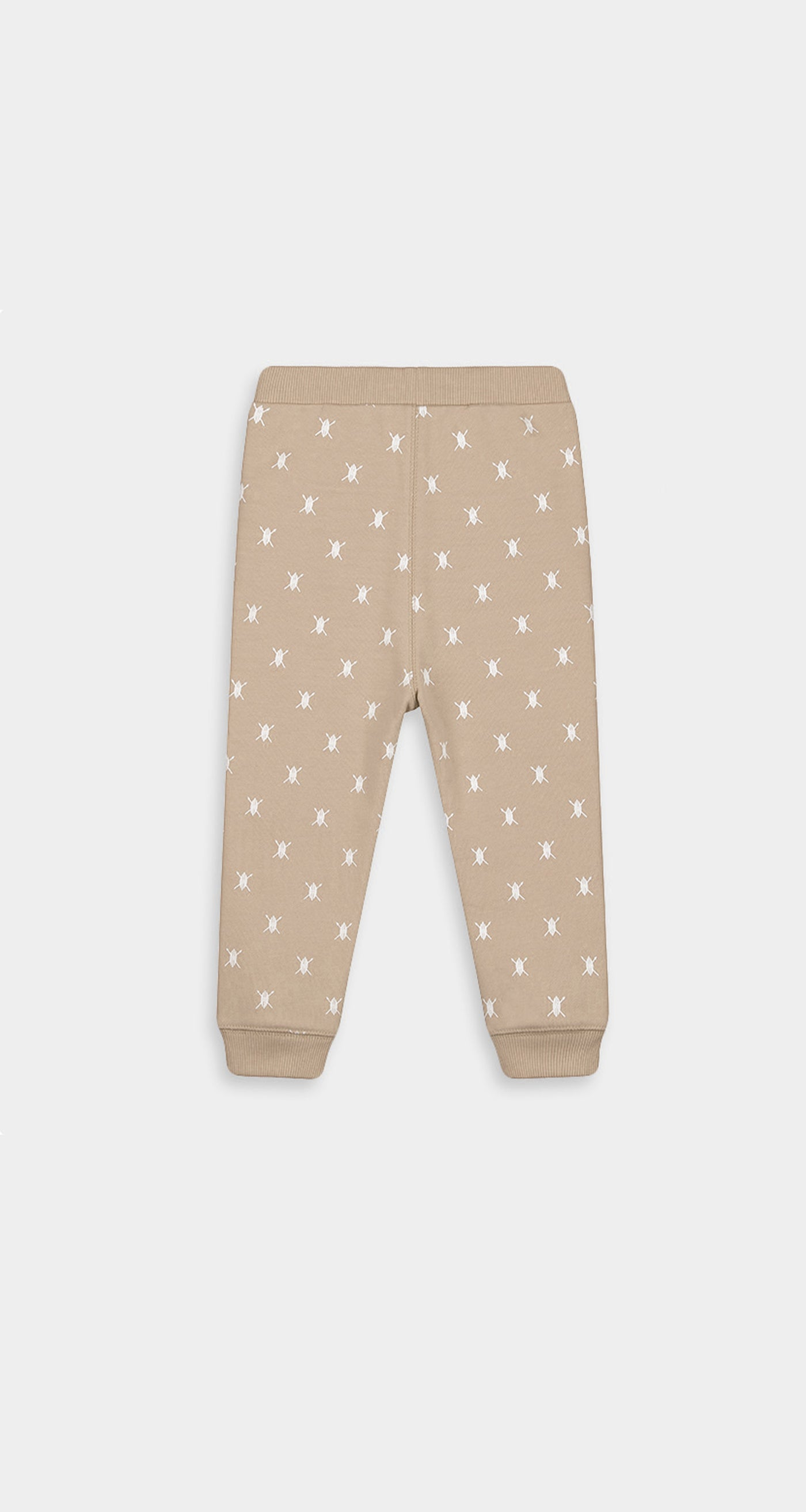 Daily Paper - Beige Baby Shield Logo Pants Baby - Rear